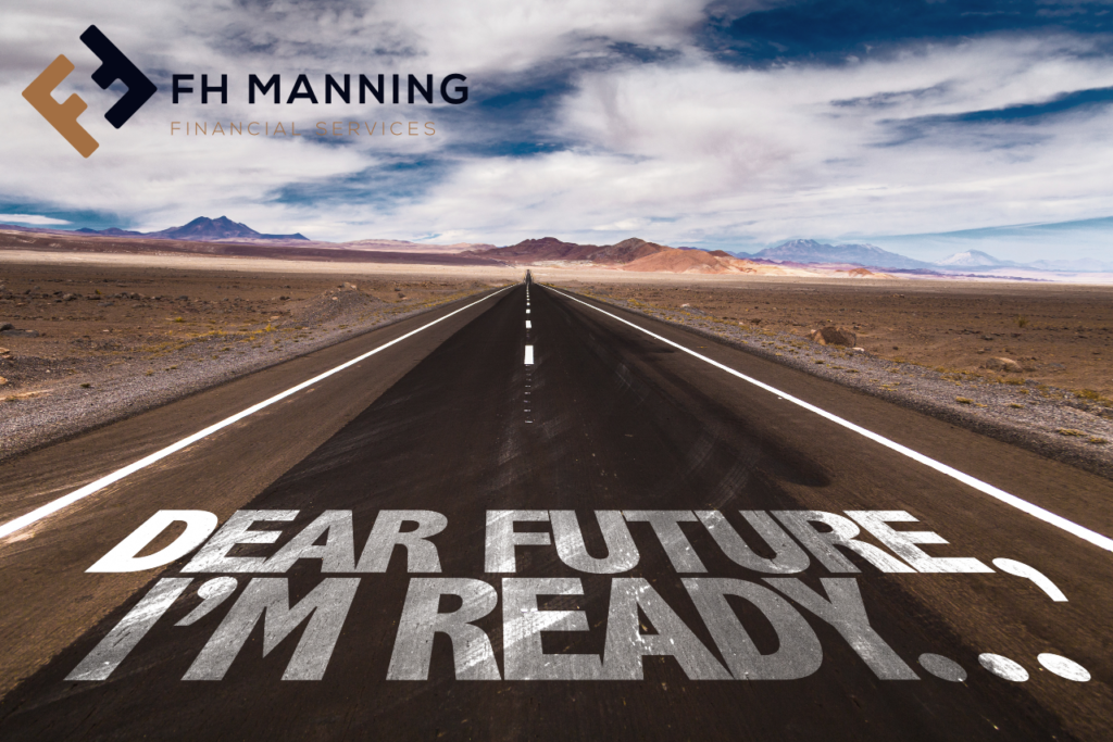 Dear Future I'm Ready. FH Manning Succession Planning blog Image